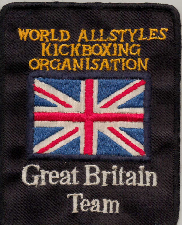 World Allstyle Kickboxing Badge